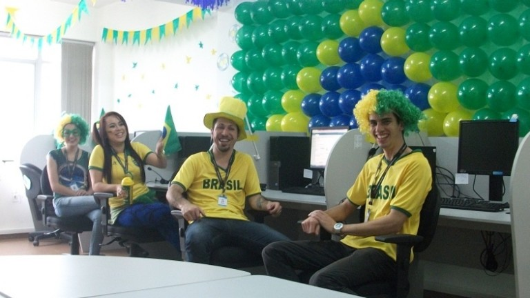 Thomson Reuters Brazil office employees