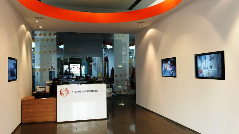 Thomson Reuters Italy office lobby