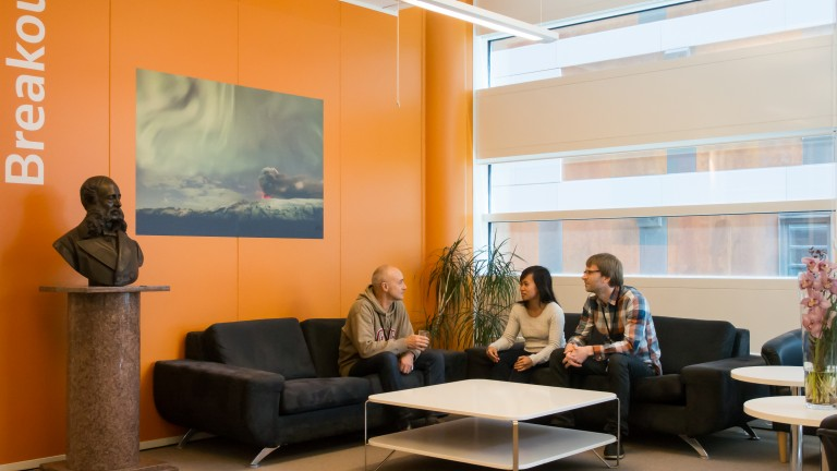 Thomson Reuters Norway office interior meeting space