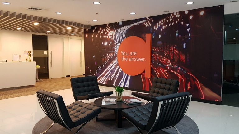 Thomson Reuters Philippines office interior