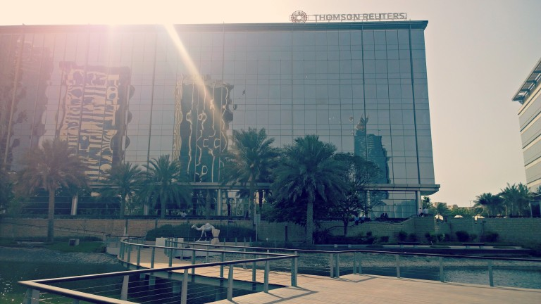 Thomson Reuters UAE office exterior