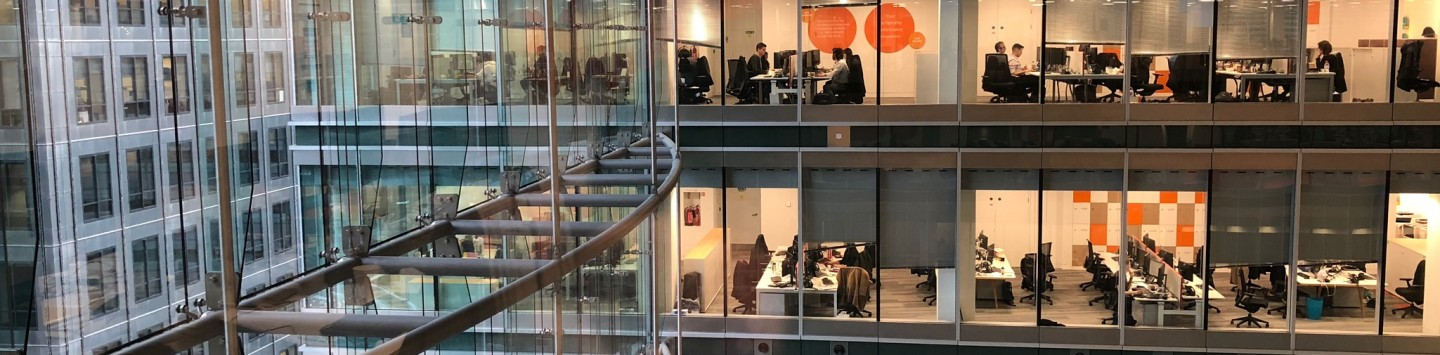 Thomson Reuters UK London office interior