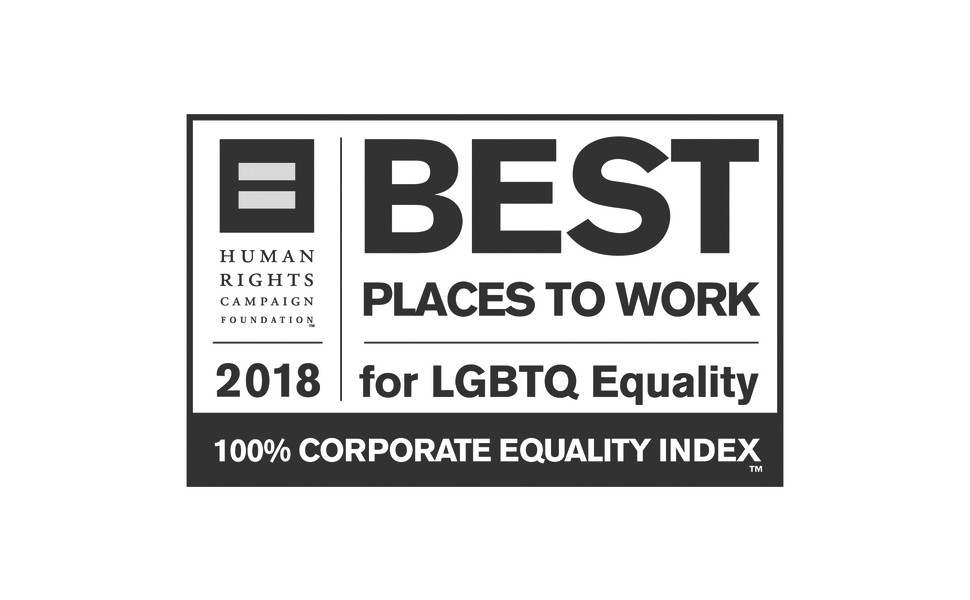 Human Rights Campaign Foundation 2018 Best Places to Work for LGBTQ Equality award