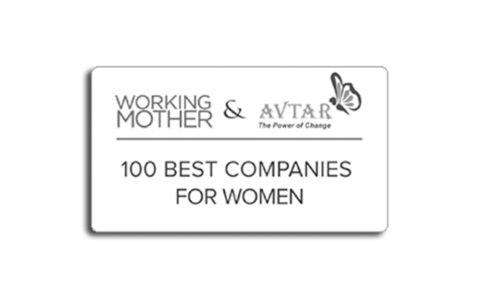 Working Mother & Avtar 100 Best Companies for Women in India award
