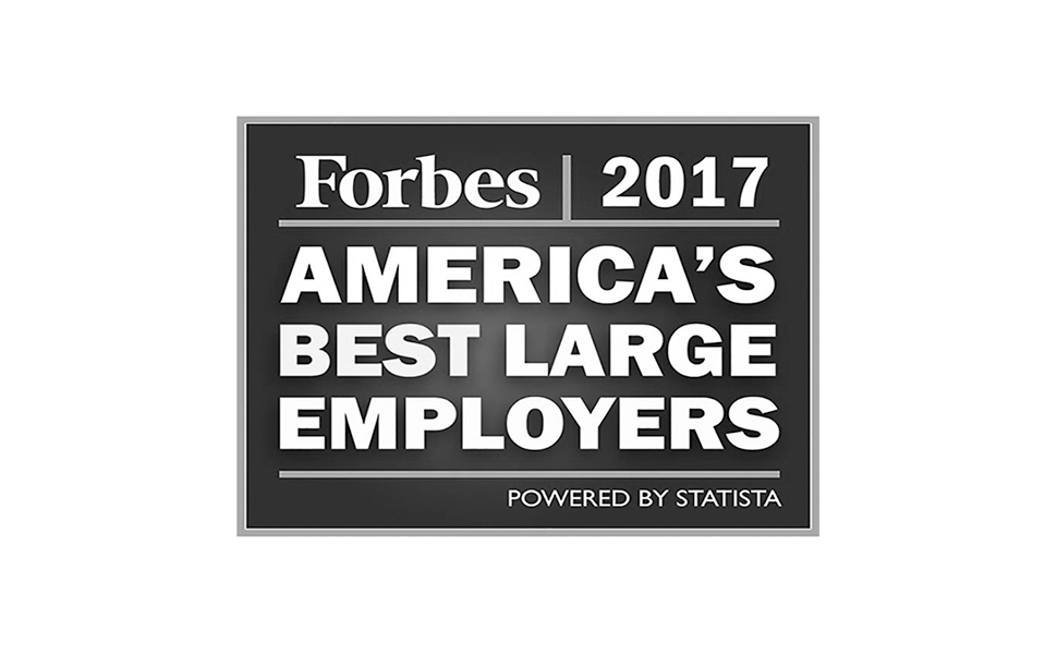 Forbes America's Best Large Employers 2017 award