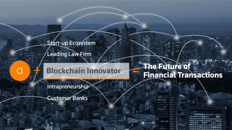 Blockchain innovator graphic