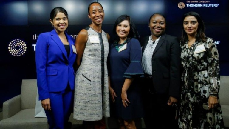 "Thomson Reuters-hosted ""Equality at Work for Women of Color"" event"
