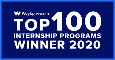 WayUP top 100 internship program winners