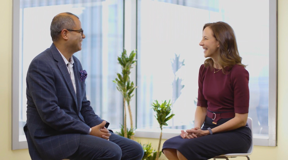 Cisco's Mark Chandler and Thomson Reuters Asif Alam sit down to discuss technology trends.