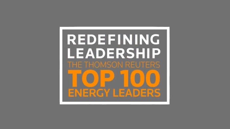 Logo of Thomson Reuters top 100 energy leaders