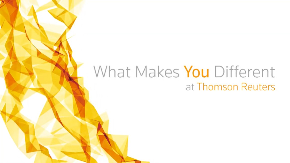 What Makes You Different at Thomson Reuters