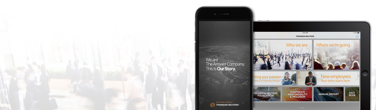 Thomson Reuters Our Story App