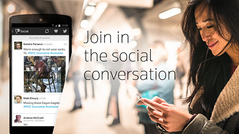 Join in the social conversation
