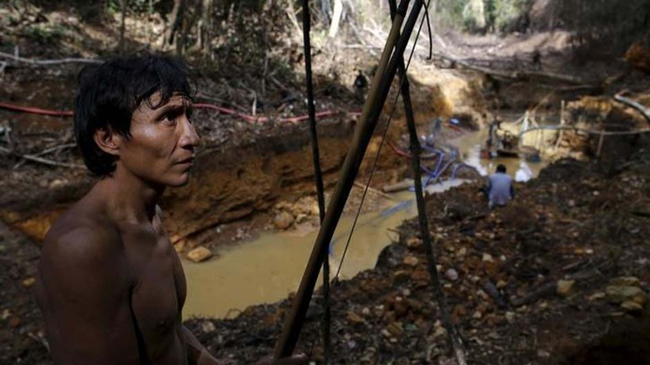 The heavy social and environmental costs of illegal mining