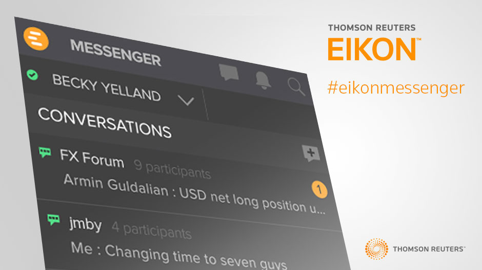 Stay connected with Eikon Messenger on Mobile