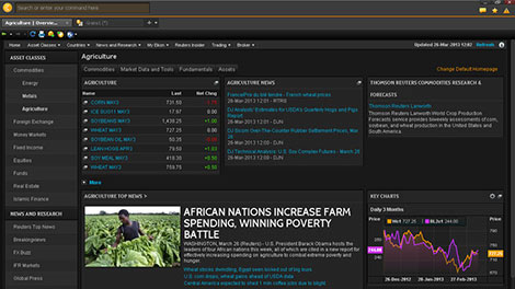 Eikon Agriculture homepage