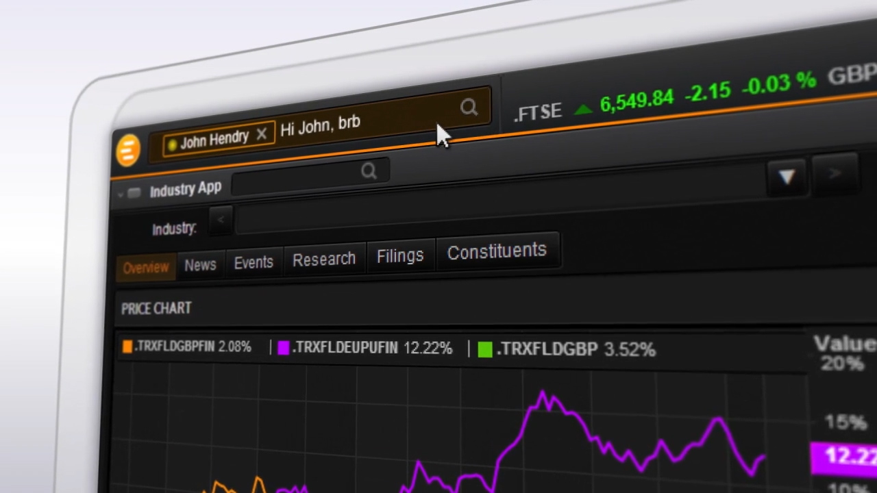 Thomson Reuters Eikon Messenger