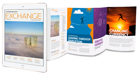 Thomson Reuters Exchange Magazine