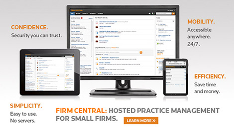Firm Central: Hosted Practice Management for small firms