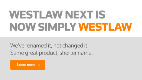 Westlaw Next Is Now Simply Westlaw