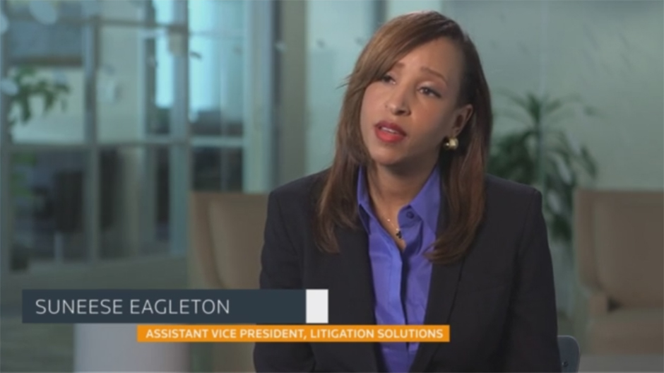 Suneese Eagleton - Assistant Vice President, Litigation Solutions