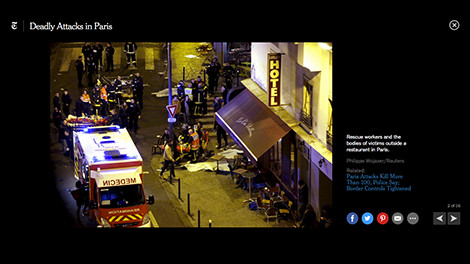 Reuters picture used by the New York Times  Paris Attacks