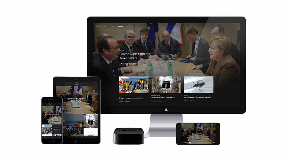 Reuters TV 2.0 featured programs on mobile and streaming devices